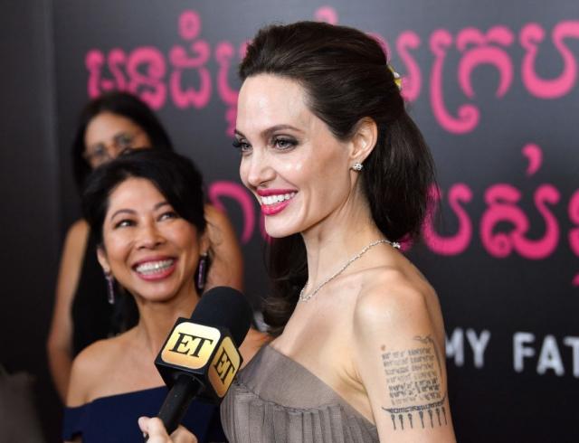 Фильм Анджелины Джоли оКамбодже заявлен на«Оскар» 2018