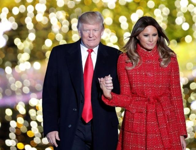 Мелания Трамп восхитила элегантным образом (ФОТО)