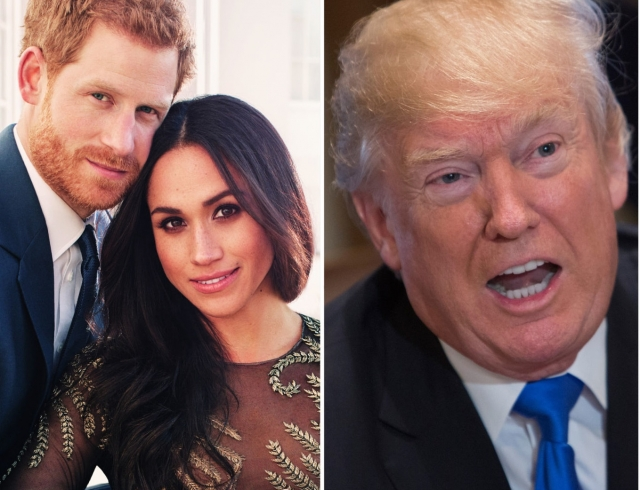 Трамп оприглашении насвадьбу принца Гарри: Яне вкурсе
