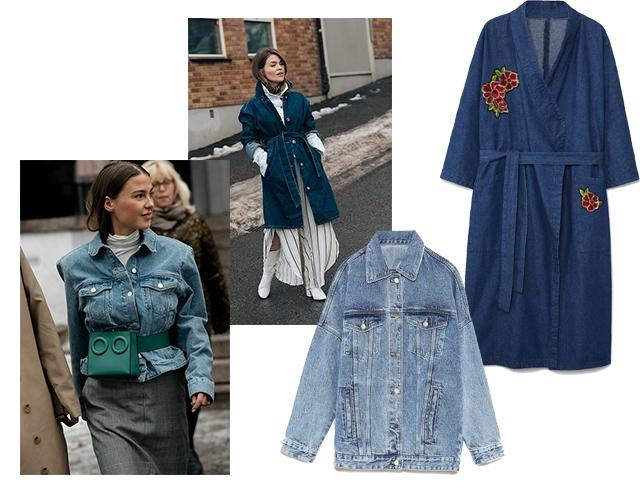 1bc891f01a1 Образы с курткой из денима  примеры Streetstyle
