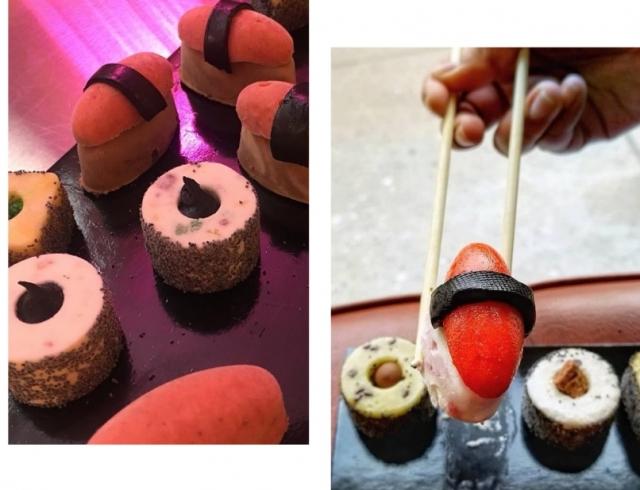 Новый фуд-тренд: мороженое в виде суши и роллов (ФОТО)