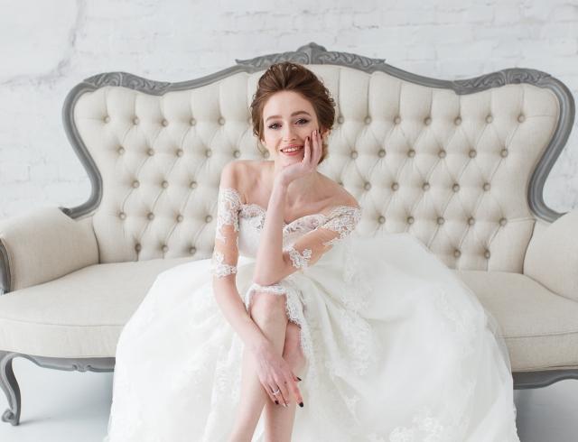свадебные прически и макияж фото 2018