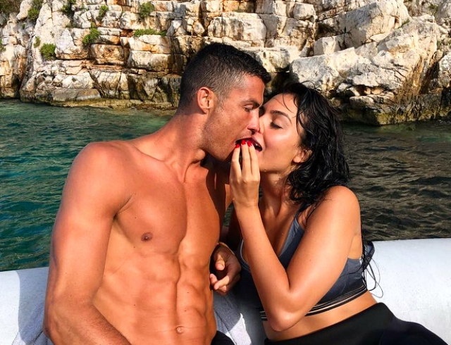 Роналдо криштиану и жена секс