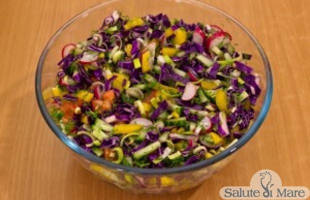 Рецепт салатов на масле растительном