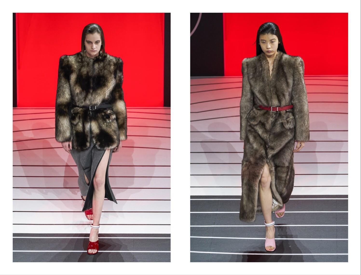 Prada —новая коллекция: строгий гламур и угловатая женственность (ФОТО) - фото №2