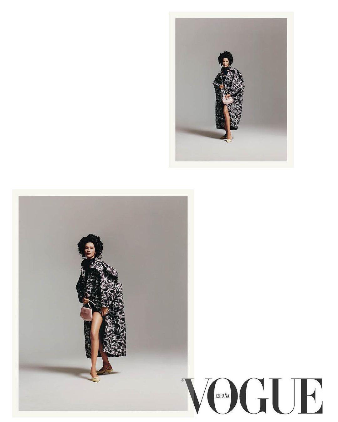 Белла Хадид снялась для испанского Vogue в образе Марии Антуанетты (ФОТО) - фото №6