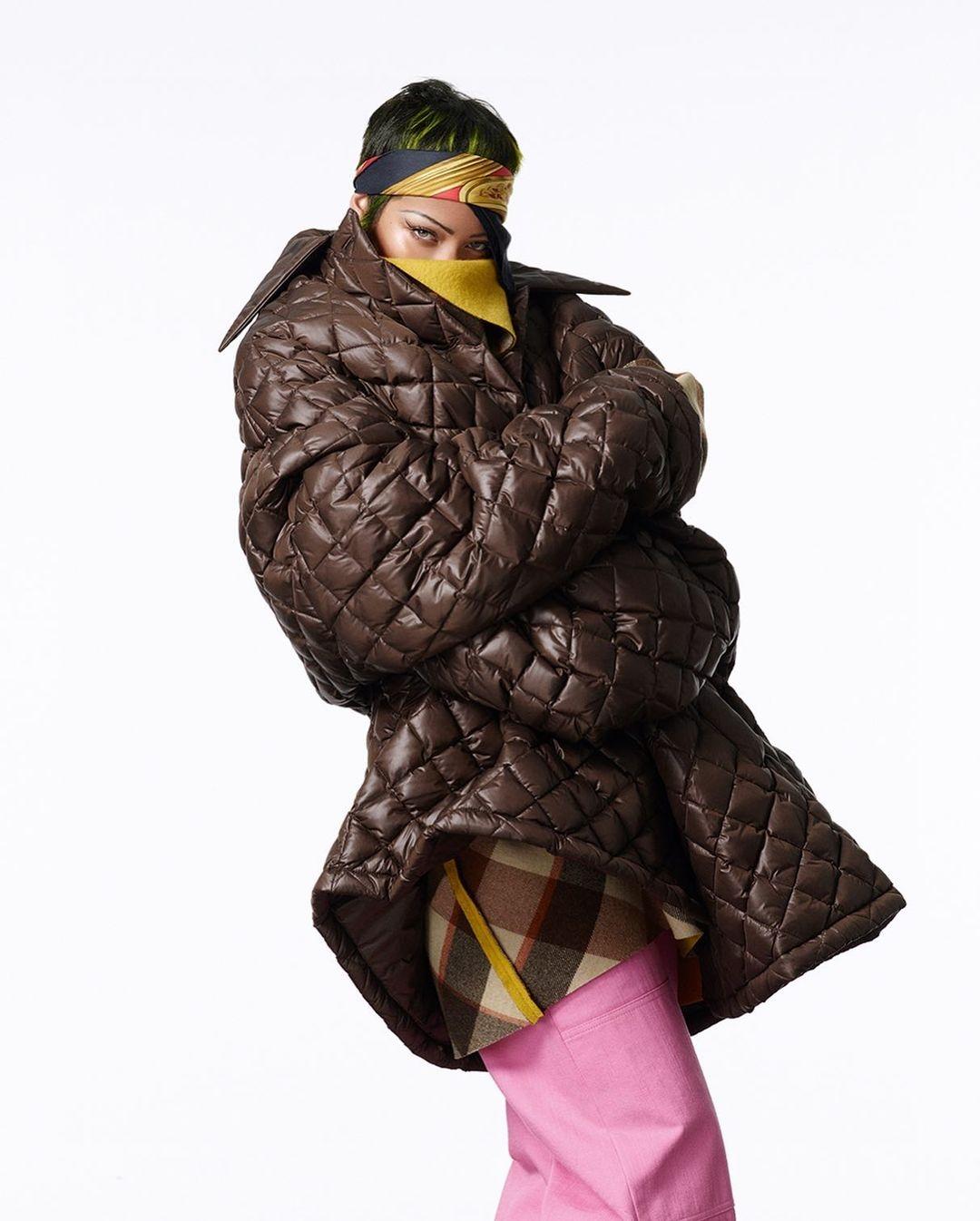 Рианна украсила обложку нового номера Vogue (ФОТО) - фото №4