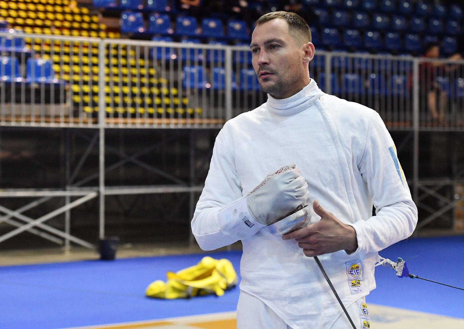 Фехтовальщик-шпажист Игорь Рейзлин принес Украине вторую медаль в Олимпийских играх в Токио - фото №1