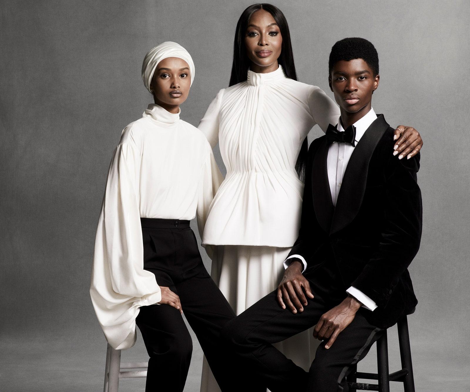 Наоми Кэмпбелл снялась для нового выпуска Vogue, который посвящен протестам в США (ФОТО) - фото №2