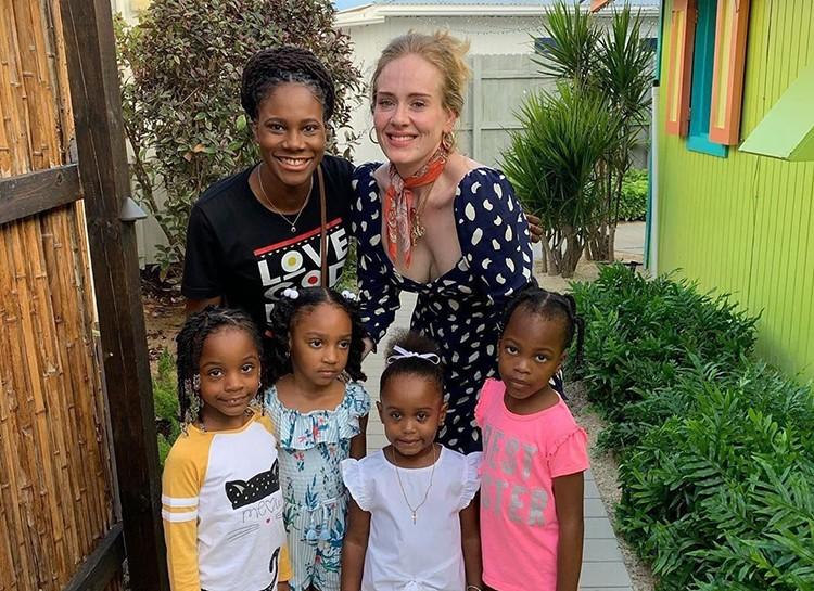 Певица Адель похудела: фото на Карибских островах