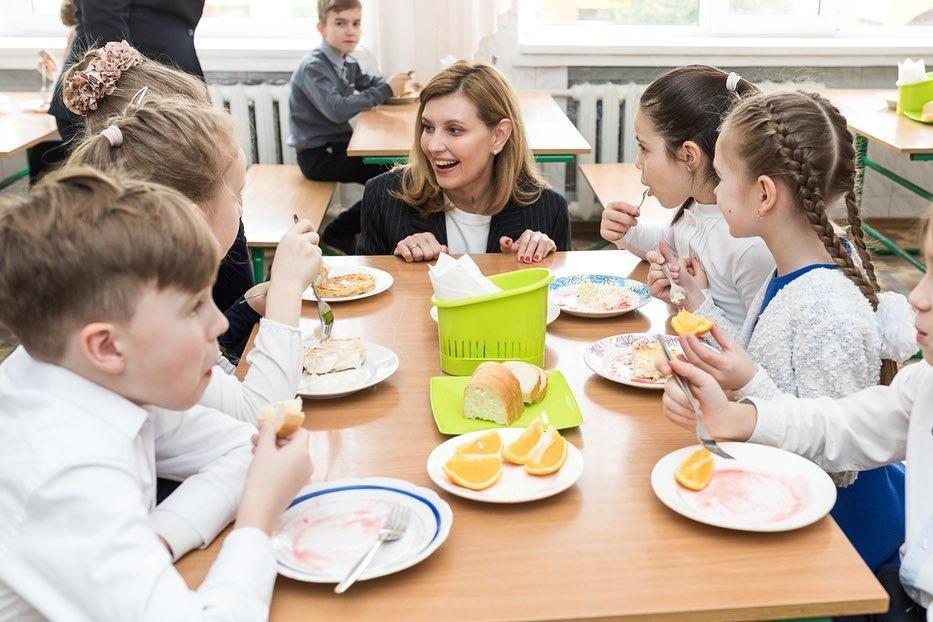 елена зеленская Новое школьное питание Cult Food