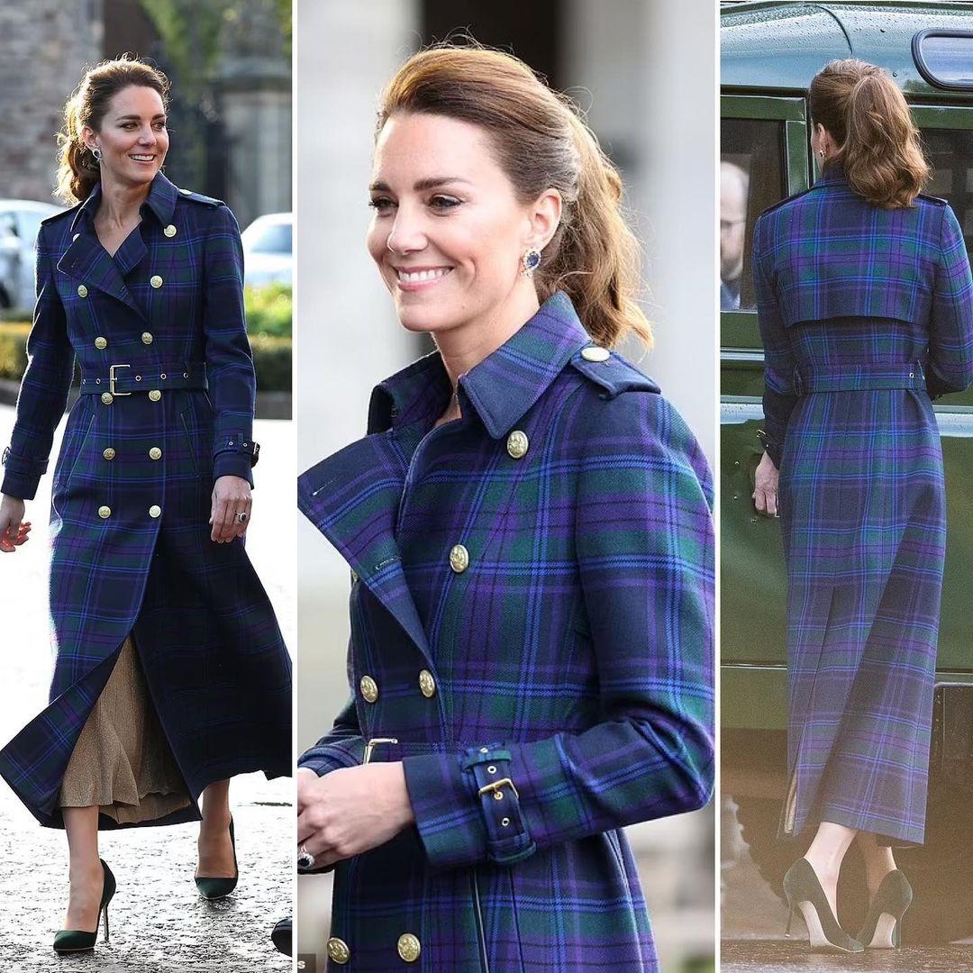 Идеальное пальто и изумрудные лодочки: новый образ Кейт Миддлтон (ФОТО) - фото №2