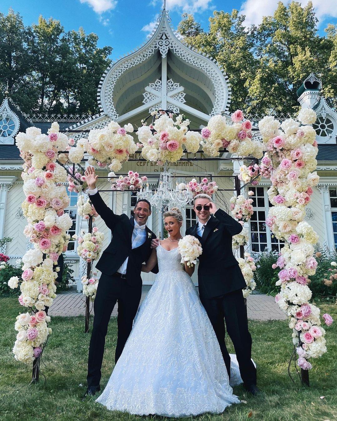 Сестра Егора Крида Полина сыграла пышную свадьбу с мужем-аргентинцем (ФОТО) - фото №1