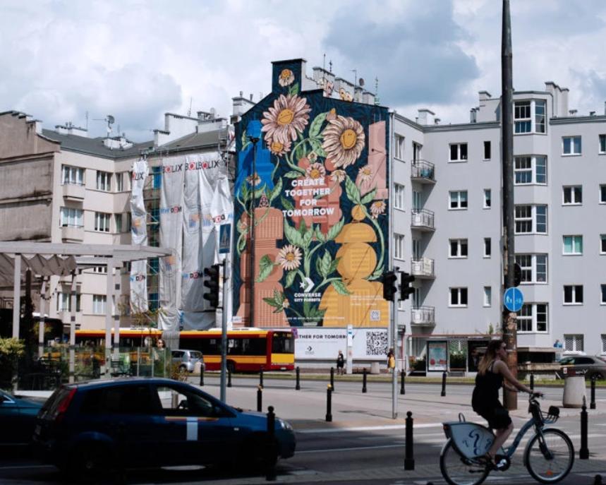 Компания Converse нарисует в 13 городах мира муралы, которые очищают воздух от загрязнений (ФОТО) - фото №3