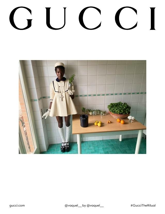Fashion-прогресс: Gucci сняли кампанию без фотографов, визажистов и стилистов - фото №1
