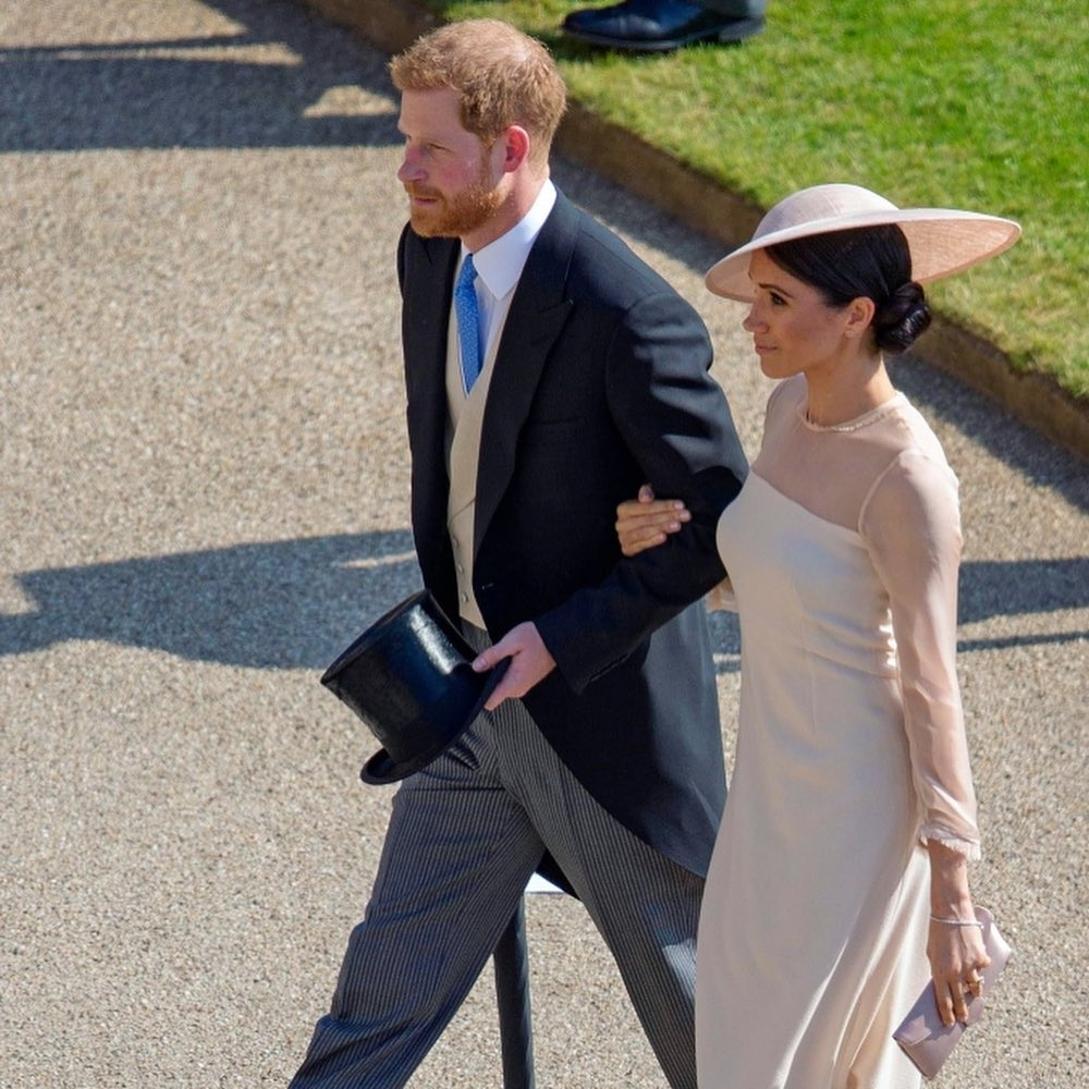 вторая годовщина свадьбы меган маркл и принца гарри
