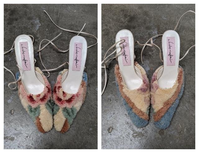 Обувь как искусство: новый тренд — мюли из ковров (ФОТО) - фото №3