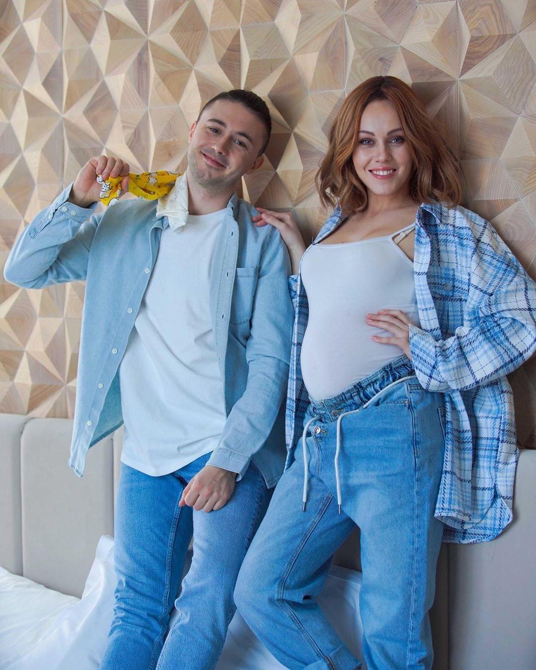 Тарас Тополя и беременная ALYOSHA