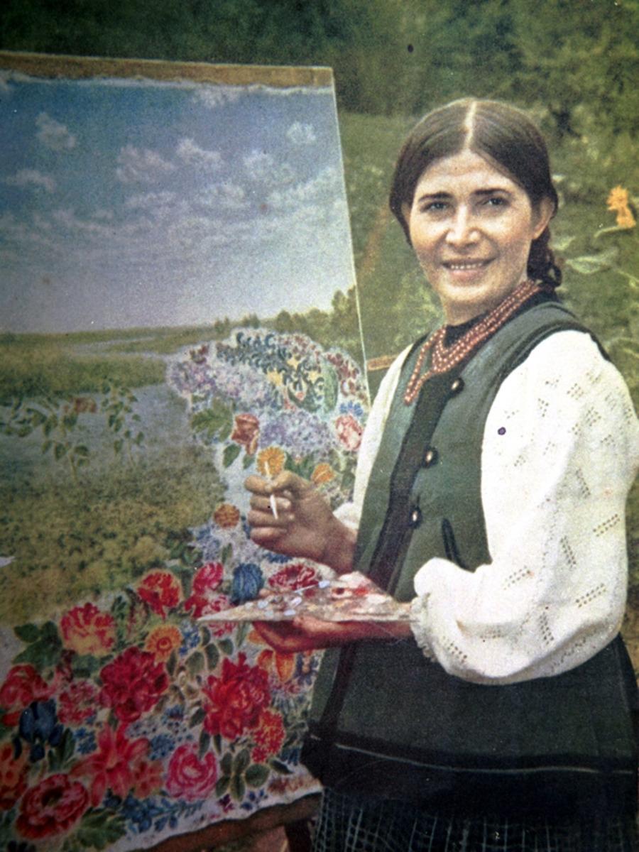 Google посвятил новый дудл к 120-летию украинской художницы Екатерины Белокур - фото №2