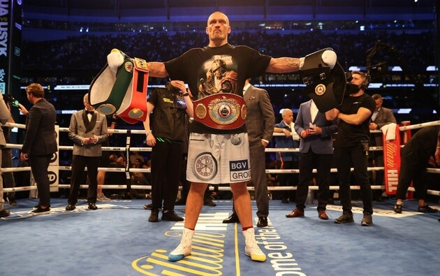 Абсолютный чемпион мира: Александр Усик выиграл британца Энтони Джошуа в Лондоне и забрал у него 4 пояса - фото №2