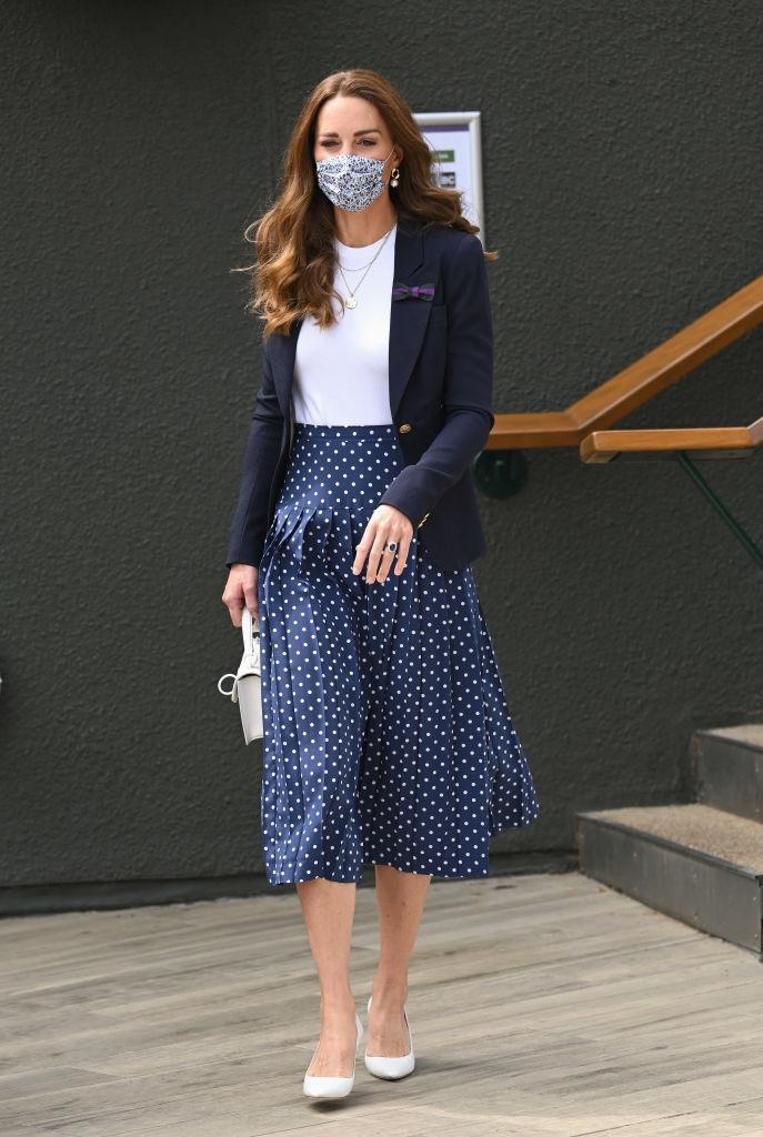 Кейт Миддлтон посетила Уимблдонский теннисный турнир (ФОТО) - фото №1
