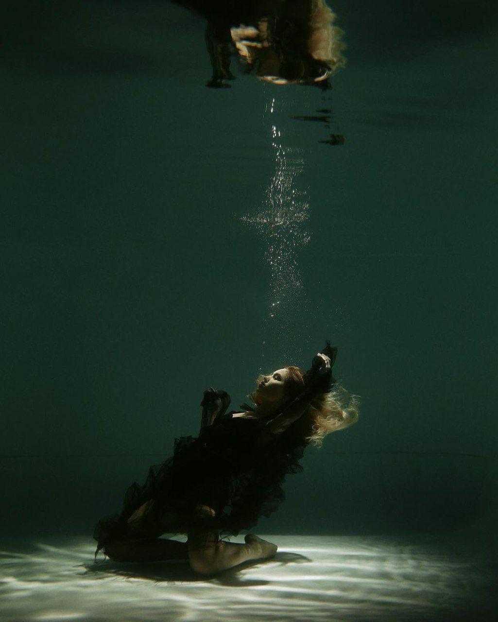 Даша Квиткова фото под водой