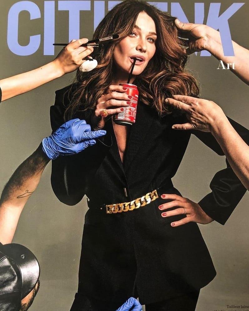 53-летняя супермодель Карла Бруни украсила обложку глянца (ФОТО) - фото №3