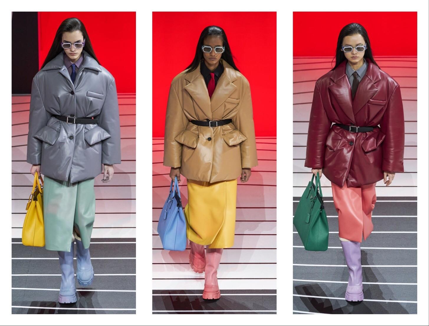 Prada —новая коллекция: строгий гламур и угловатая женственность (ФОТО) - фото №4
