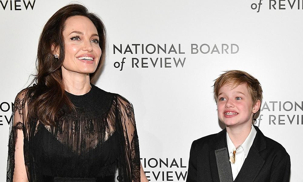 Анджелина Джоли и дочь Шайло