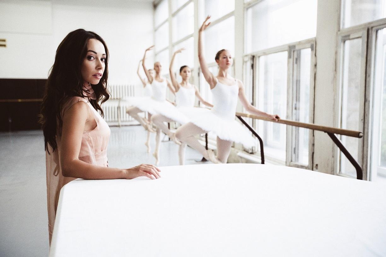 Екатерина Кухар в Киевском государственном хореографическом училище