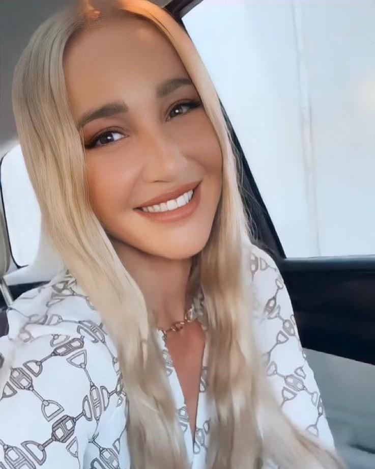 бузова блондинка фото