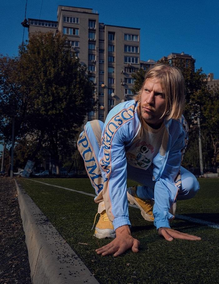 Креативна колаборація: Іван Дорн став обличчям першої спільної колекції PUMA та KidSuper (ФОТО+ВІДЕО) - фото №1