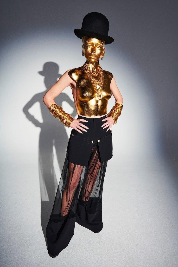 231 секунда высокой моды: обзор новой коллекции Schiaparelli Haute Couture (ФОТО+ВИДЕО) - фото №7