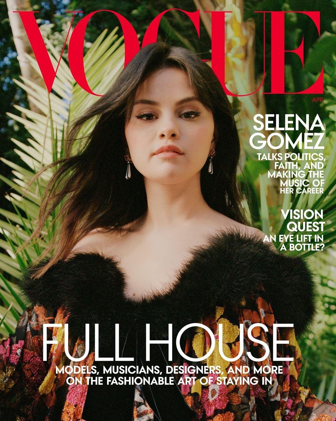 Селена Гомес появилась на обложке Vogue и рассказала о биполярном расстройстве (ФОТО) - фото №1