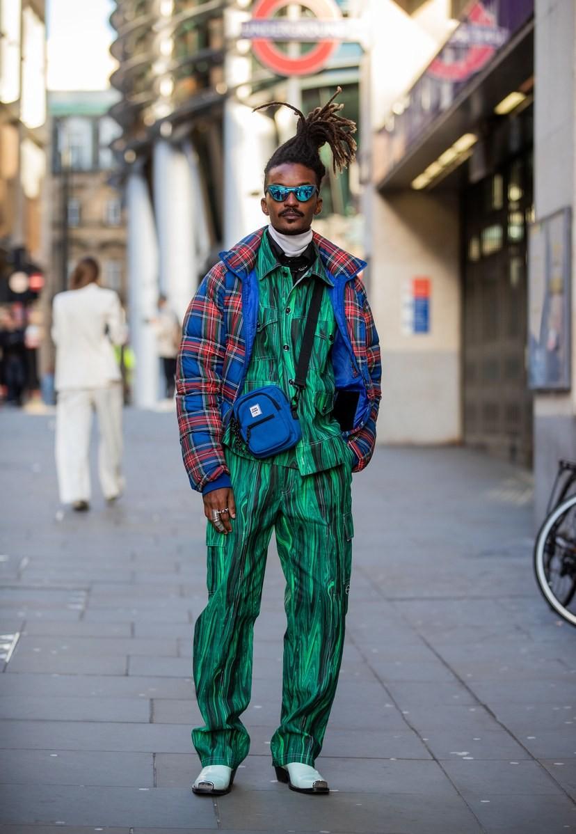 Мужская неделя моды в Лондоне: лучшие стритстайл-образы - фото №5