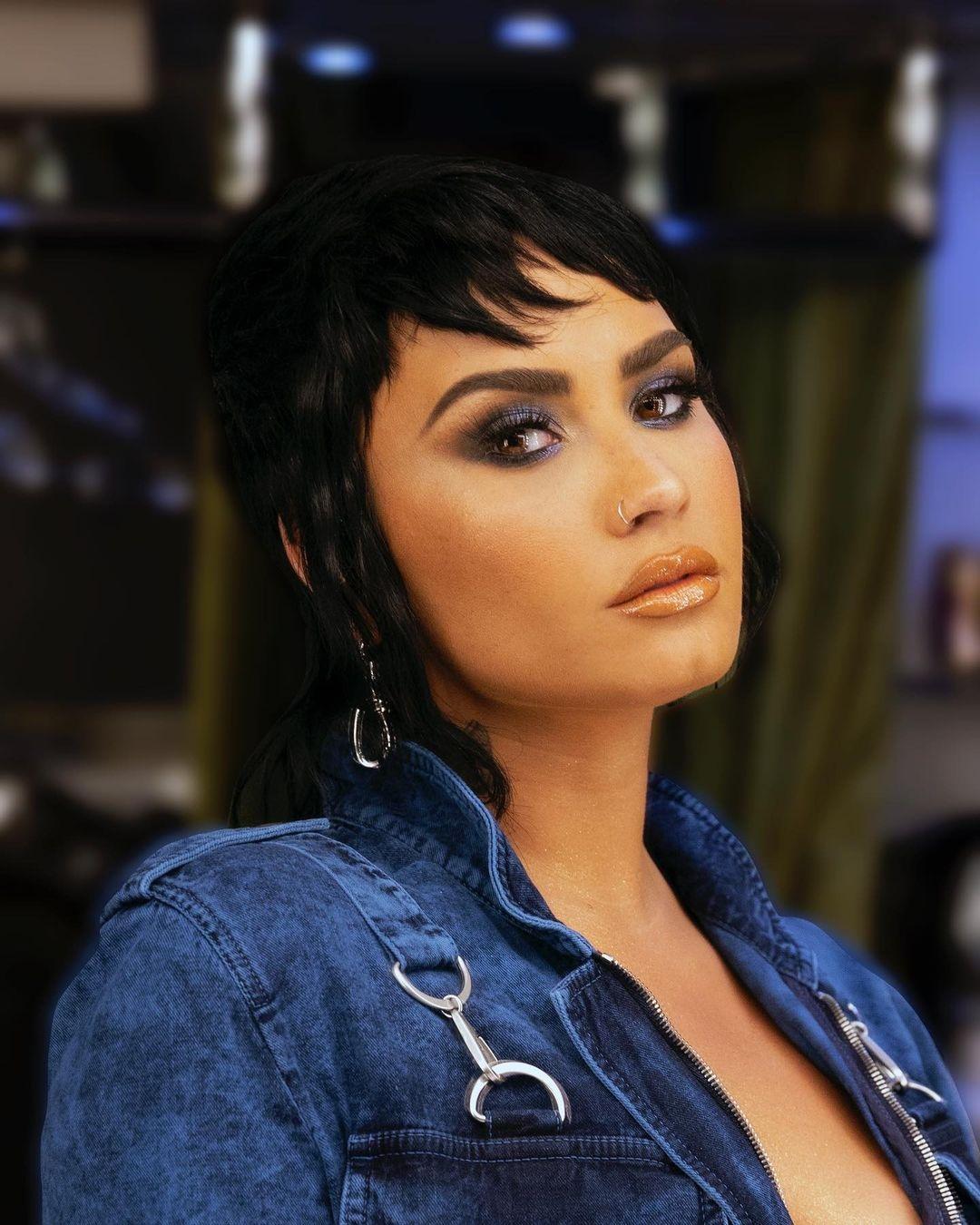 Певица Деми Ловато заявила, что может стать трансгендером - фото №2