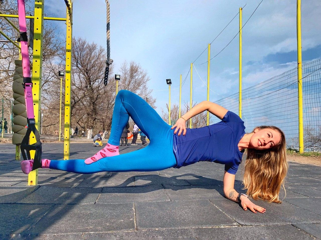 Кристина фитнес-инструктор одесса