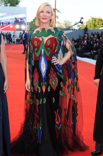 Кейт Бланшетт фото на 77-ом Венецианском кинофестивале