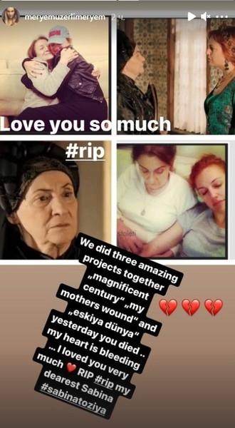 сабина Тозия умерла