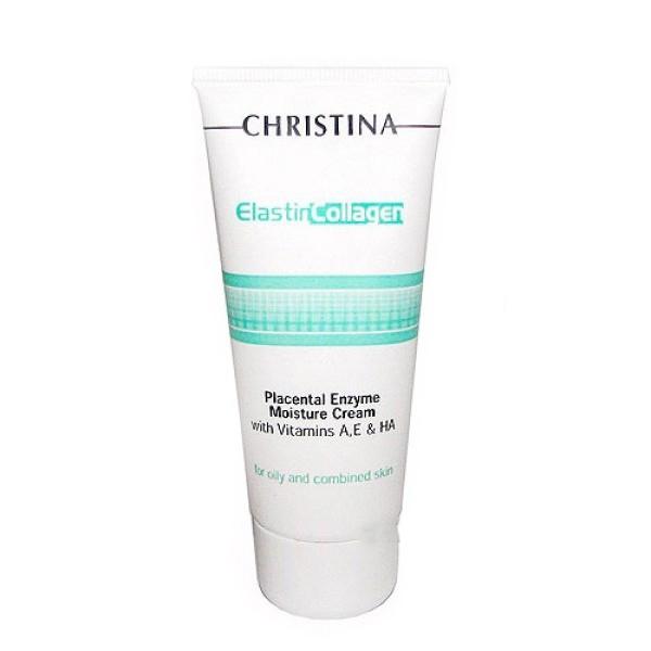 Увлажняющий азуленовый крем с коллагеном и эластином для нормальной кожи отChristina