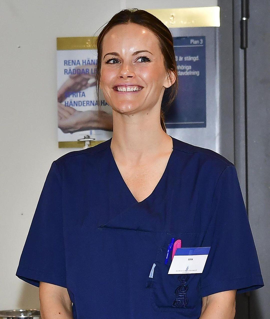принцесса софия работает в больнице