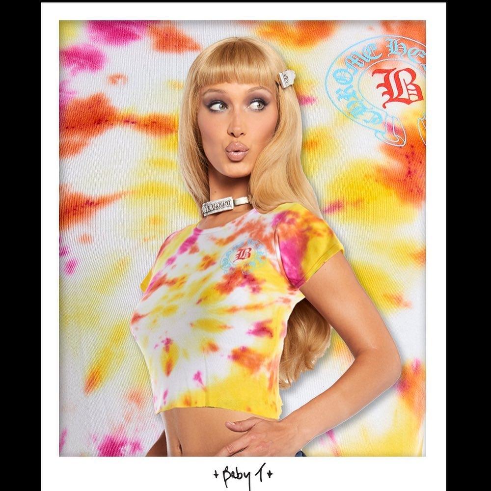 Белла Хадид выпустила благотворительную коллекцию одежды (ФОТО) - фото №3
