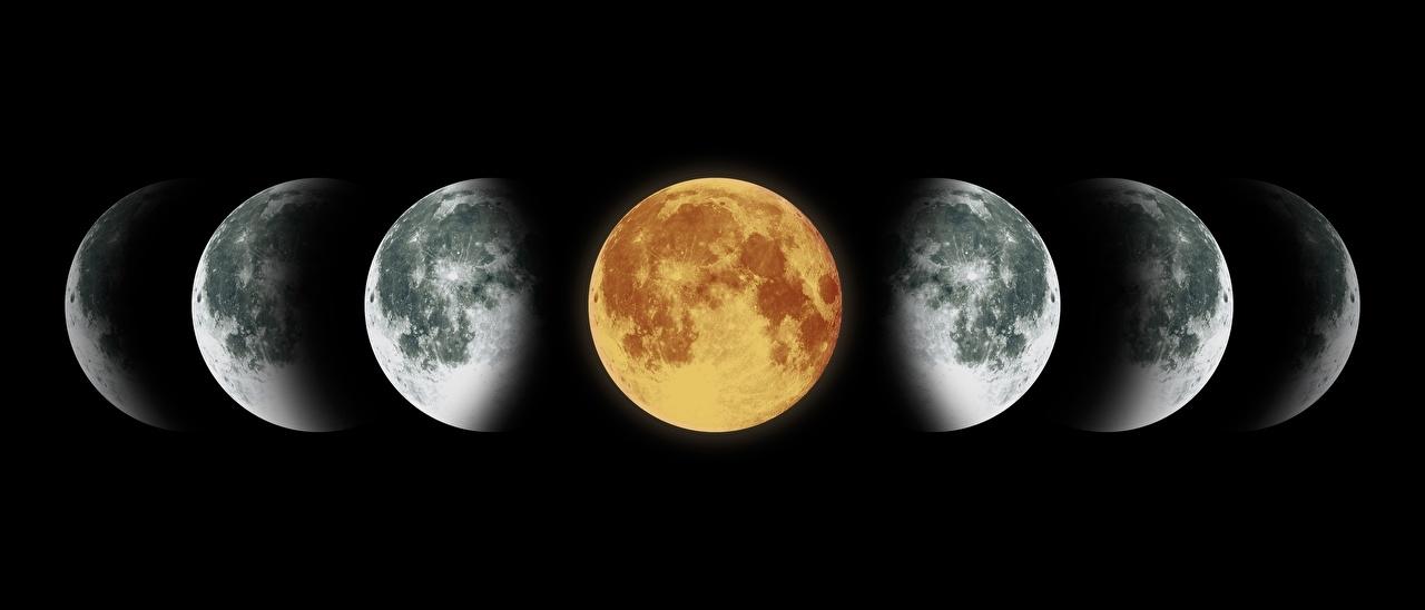 луна в марте 2021