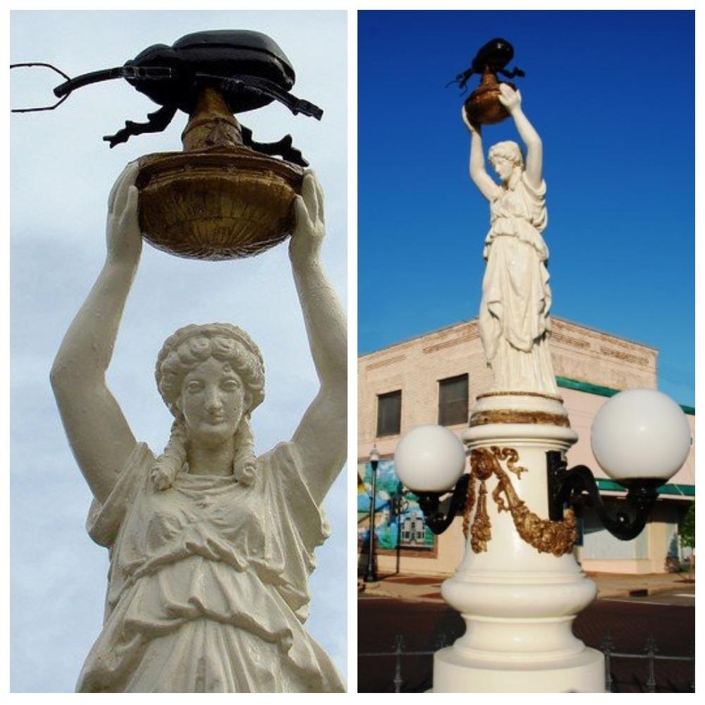Памятник Хлопковому Долгоносику, Алабама