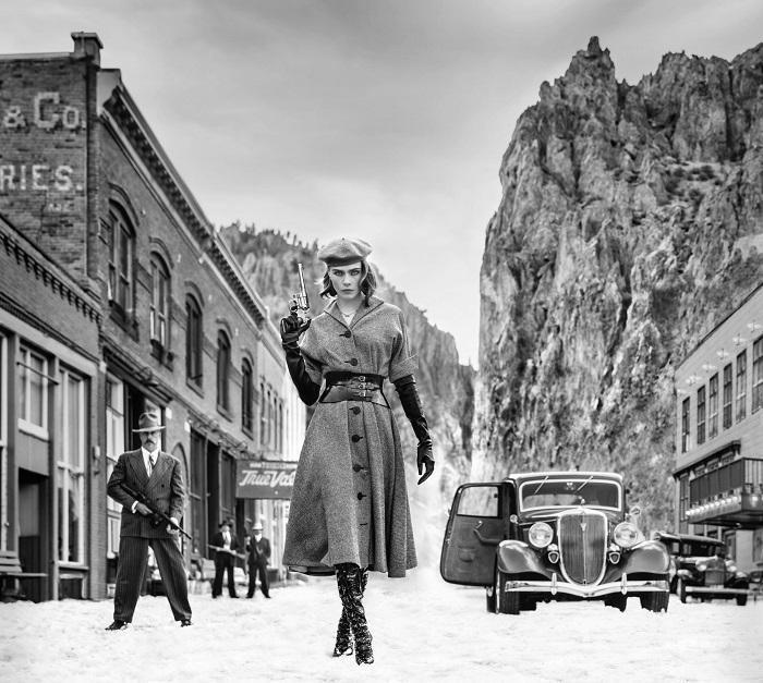 Дикий запад: Кара Делевинь появилась в образе знаменитой гангстерши (ФОТО) - фото №3