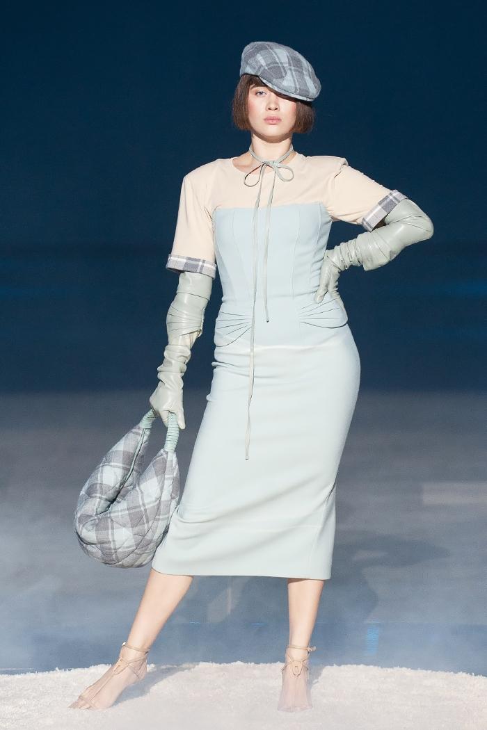 Элегантность, минимализм и звезды на подиуме: как прошел первый день Ukrainian Fashion Week noseason sept 2021 - фото №4