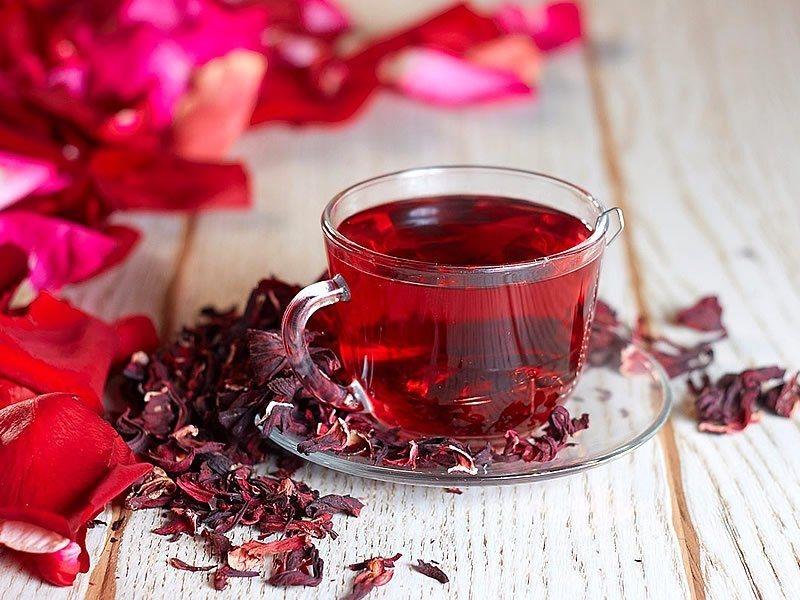 чай каркаде польза