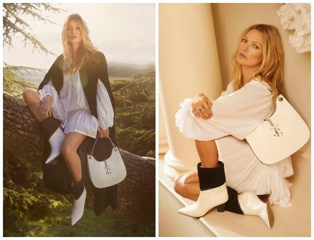Кейт Мосс стала лицом новой коллекции Jimmy Choo и показала самую модную обувь этого сезона (ФОТО) - фото №3