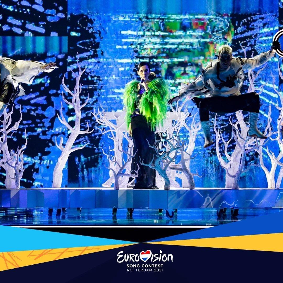 выступление Go_A в первом полуфинале евровидения