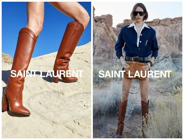 Марокканские мотивы и непревзойденная Зои Кравиц в новой кампании Saint Laurent (ФОТО+ВИДЕО) - фото №5